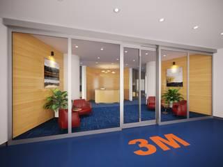 ARTERRA MİMARLIK LTD.ŞTİ. – 3M Ofis Projesi / Office Project:  tarz Ofis Alanları
