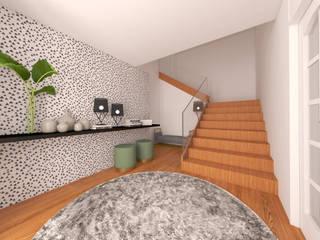 MIA arquitetos Vestíbulos, pasillos y escalerasAccesorios y decoración