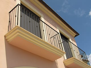 Área Deluxe Balconies, verandas & terracesAccessories & decoration Textile Black