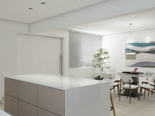 Maria Laura Coelho Modern kitchen