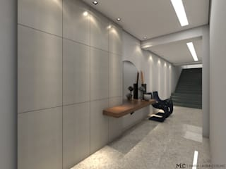Modern Corridor, Hallway and Staircase by Maria Laura Coelho Modern