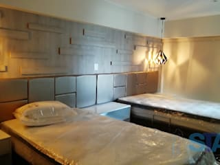 Soluciones Técnicas y de Arquitectura ห้องนอนขนาดเล็ก แผ่นไม้อัด Brown