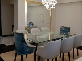 Soluciones Técnicas y de Arquitectura ห้องทานข้าว อลูมิเนียมและสังกะสี Transparent