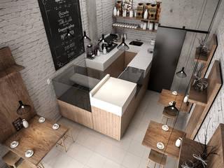 Cafeteria Remodelacion. :  de estilo  por CG Arquitectos