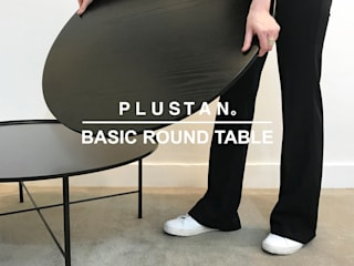 Basic Round Table Set(2pcs): PLUSTAN. 플러스탠의