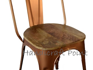 Metal Chairs for cafe and restaurant: industrial  by Handicraft Point,Industrial