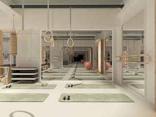 Antler İç Mimarlık – CEYDADEĞİRMENCİ Pilates Studio - Personel Trainer:  tarz Etkinlik merkezleri