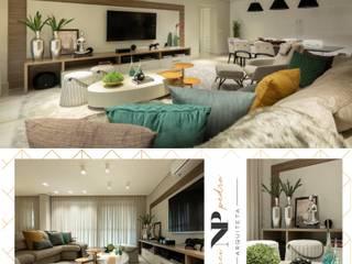 Apartamento 230m2:   por Nanci Pedro Arquitetura