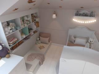 Antler İç Mimarlık – Lale Gümüş bebek odası:  tarz