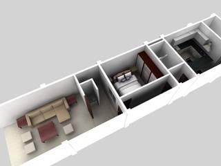 施工前3D示意圖 根據 懷謙建設有限公司