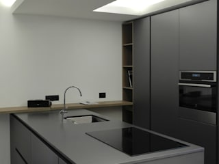 Kitchen di Laura Marini Architetto Moderno
