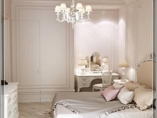 Бизе: Спальни в . Автор – Студия дизайна Светланы Исаевой