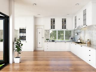 Built-in kitchens by PT. Leeyaqat Karya Pratama, Modern