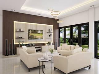 Living room by PT. Leeyaqat Karya Pratama, Modern