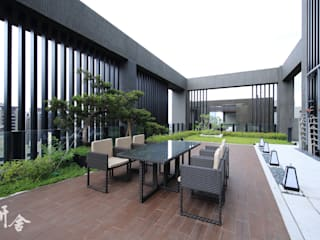 研舍設計股份有限公司 Balcones, porches y terrazasAccesorios y decoración