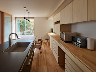 Eclectic style kitchen by ARTBOX建築工房一級建築士事務所 Eclectic
