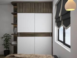 Thiết kế tủ treo quần áo phong cách hiện đại anh Hiếu, Cầu Giấy:   by NỘI THẤT XLINE