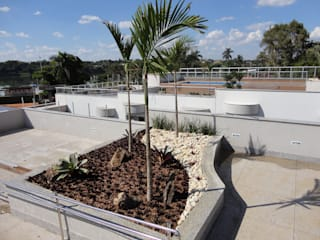 San Diego Suites Pampulha: Terraços  por Marcelo Sena Arquitetura