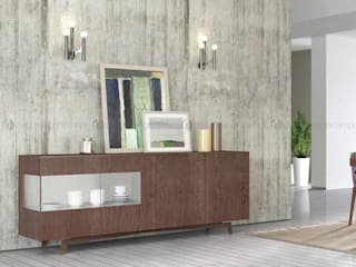 Decordesign Interiores Dining roomDressers & sideboards Wood effect