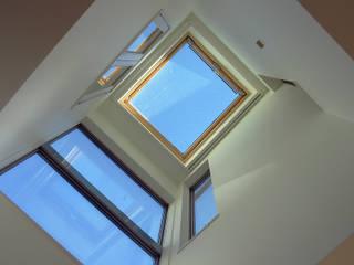 神奈川で建てた1000万円台の3階建てローコスト住宅 モダンな 窓&ドア の 滝沢設計合同会社 モダン