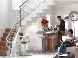 Elevadores de escadas por Stannah Moderno