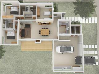 Vivienda Unifamiliar de Arquitectura CH Moderno