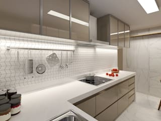 C2HA Arquitetos Small kitchens
