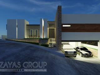 Casa de playa VI: Casas de campo de estilo  por Zayas Group