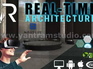 360º Real Estate VR Tour Video Developed by Yantram Virtual Reality Studio, Paris - France Yantram Architectural Design Studio Modern