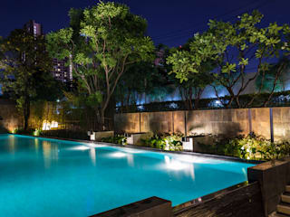 Quality Pool Lighting Installation:   by CVP Projects and Swimming Pools