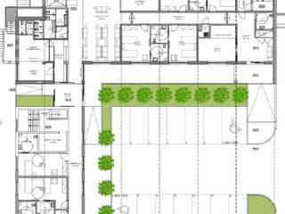 Edificação: Residência para Idosos:   por Screenproject Consulting Engineers, Lda