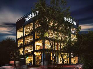 moblum, la nueva tienda de diseño en #Horacio545, Polanco Estudios y despachos modernos de moblum Moderno
