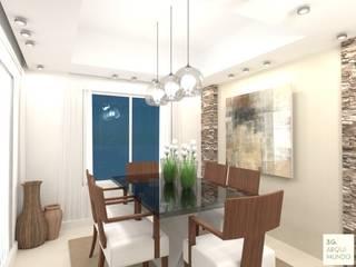 Salle à manger moderne par Arquimundo 3g - Diseño de Interiores - Ciudad de Buenos Aires Moderne