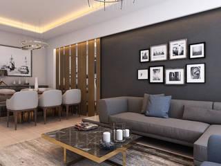 MİNERVA MİMARLIK Living roomSofas & armchairs