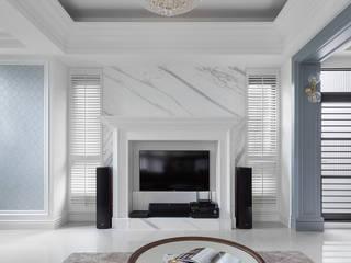 Phòng khách phong cách kinh điển bởi 禾廊室內設計 Kinh điển