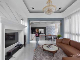 Ruang Keluarga Klasik Oleh 禾廊室內設計 Klasik