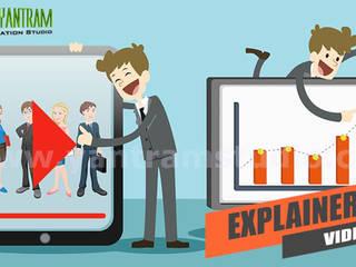 Animated Explainer Video using Motion Graphics Production by Yantram Real Estate Digital Branding Agency, Dubai - UAE Yantram Architectural Design Studio Modern