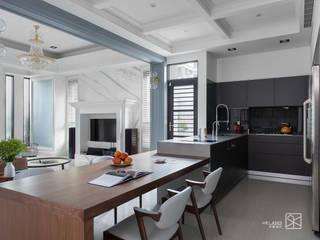 廚房&餐廳 現代廚房設計點子、靈感&圖片 根據 禾廊室內設計 現代風
