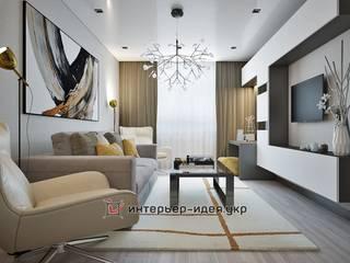 Проекты частных интерьеров: Гостиная в . Автор – Интерьер-Идея