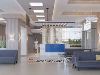 Дизайн офисов: Больницы в . Автор – Интерьер-Идея
