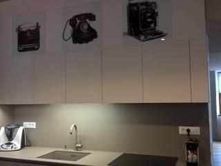 Dettaglio cucina - ante con stampe: Cucina in stile  di G&S INTERIOR DESIGN