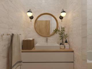 ЖК Бавария Ванная комната в стиле минимализм от ReDi Минимализм