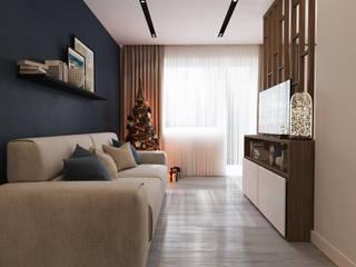 Salones de estilo minimalista de ReDi Minimalista