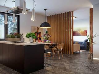 Гостиная в . Автор – Мак Дизайн