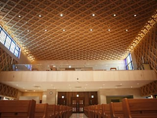 Daejeon Wonshinheung-dong Catholic Church 모던 스타일 행사장 by 피투엔디자인 _____ p to n design 모던
