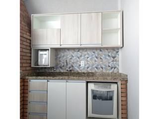 Antes e depois de área externa por Daniela Ponsoni Arquitetura