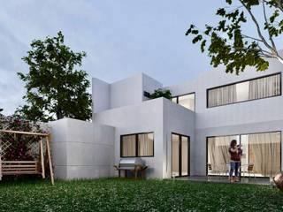 Casa en León Guanajuato, Gran jardín de Inversiones inmobiliarias. Bienes raíces y construcción en León. Moderno