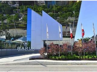 Hotel Baruk Hoteles de estilo moderno de ABA Depot Moderno