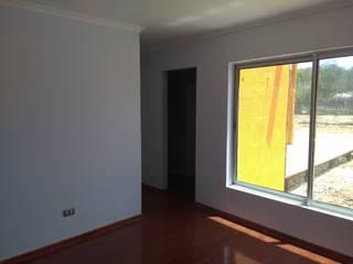 Casa pasiva en Catapilco en Super Aislación en poliestireno de alta densidad (20-30 kg/m3) Casas Green Planet Dormitorios de estilo mediterráneo