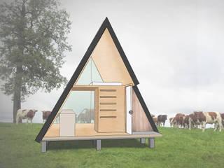 Rumah pasif oleh UNOAUNO arquitectura sustentable, Minimalis